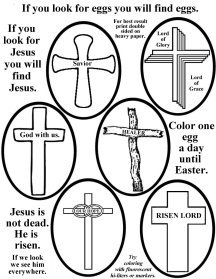 Bible Crafts for Christmas, Easter and more