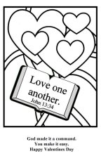 Free Bible Coloring For Valentine S Day Printable Christian Valentines Day Cards