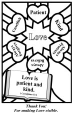 It's just a graphic of Lively 1 Corinthians 13 Coloring Page