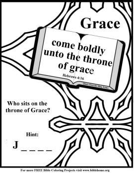 free christian coloring page prayer